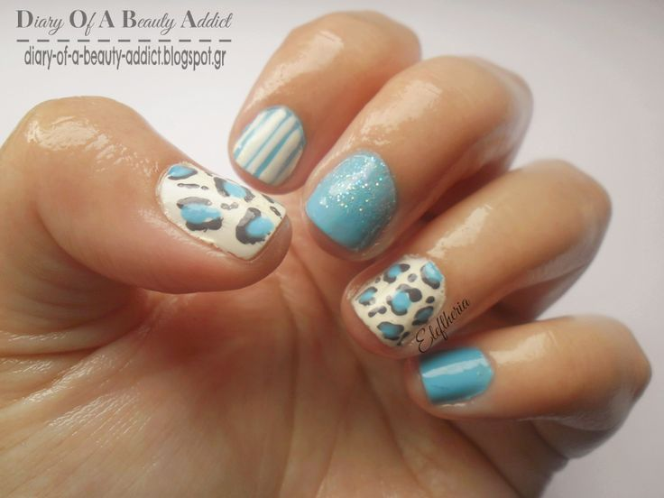 Simply Nails ▎❝Blue Mix and Match❞