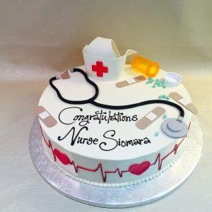 Image result for nursing graduate cake