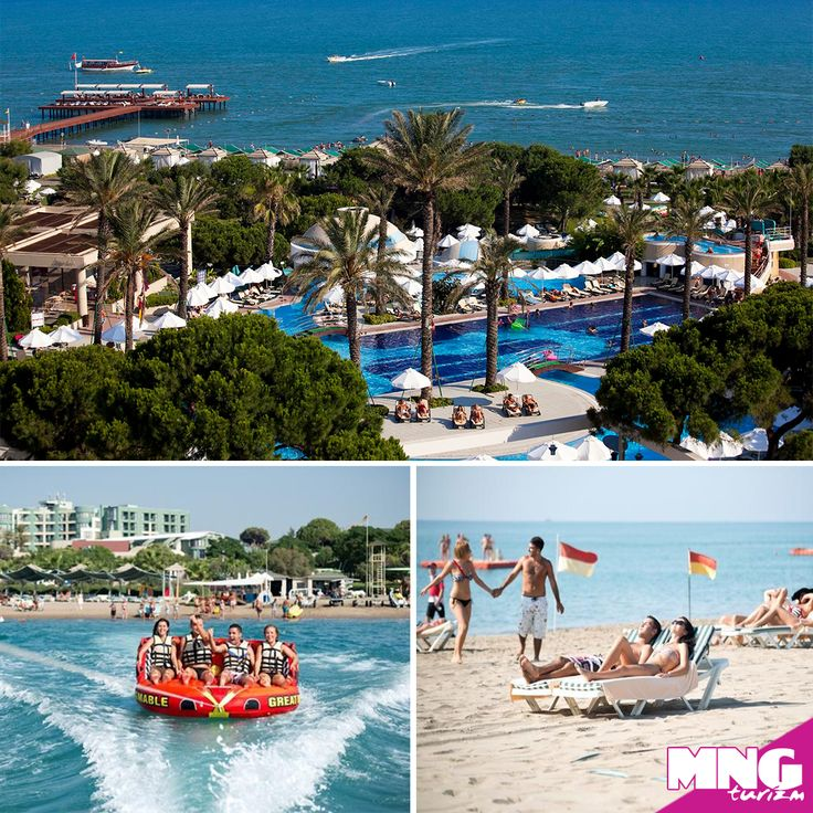 Belek'in altın sarısı kumlarının masmavi deniz ile birleştiği noktada tatil için Limak Atlantis De Luxe Hotel'i seçin. Erken rezervasyon fırsatları ile %40'a varan indirimler için; bit.ly/MNGTurizm-limak-atlantis-hotel-s