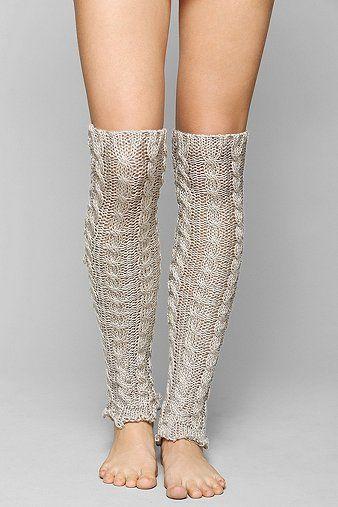 Dancer Cableknit Leg Warmer