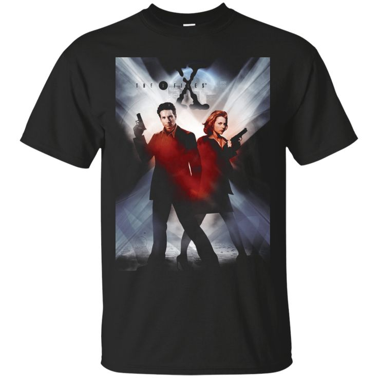 The X-Files Returns TV series Black Men's T-Shirt
