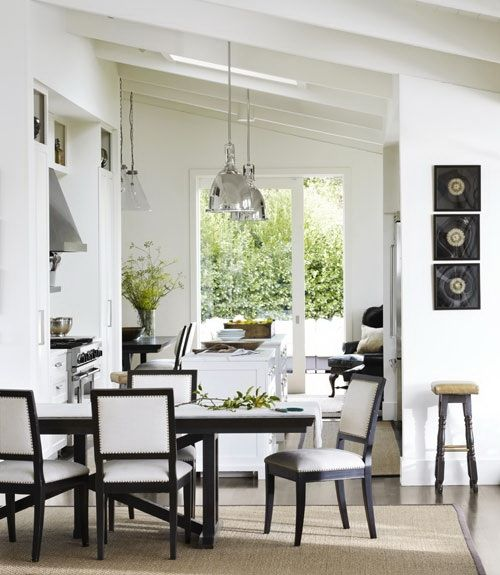 interior design for living room and kitchen - 1000+ images about Sloped eiling Dining oom Ideas on Pinterest ...