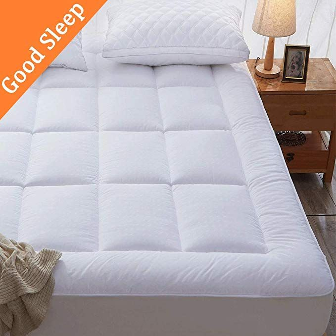 Sonoro Kate Mattress Pad Queen Cover Cotton Down Alternative