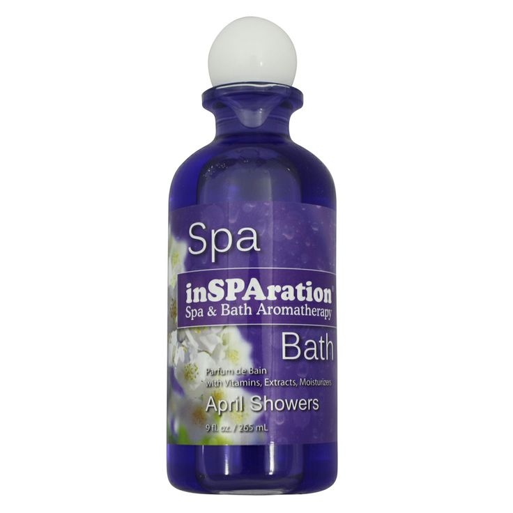 inSPAration Spa Aromatherapy - April Showers 265mL spa aromatherapy scents are easy to use in all spas and are the perfect way to help you relax after a long day. http://spastore.com.au/insparation-spa-aromatherapy-april-showers/ #pool #spa #spapool #swimspa
