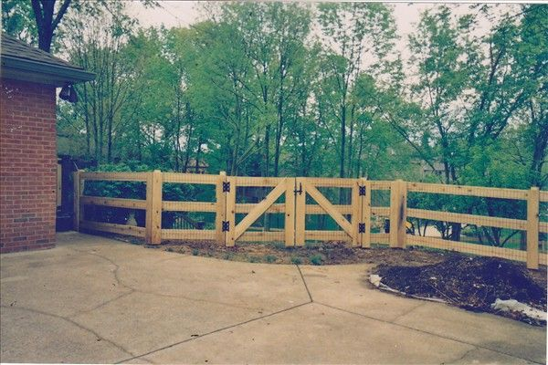 26 Best Fence Project Images On Pinterest Wooden Gates