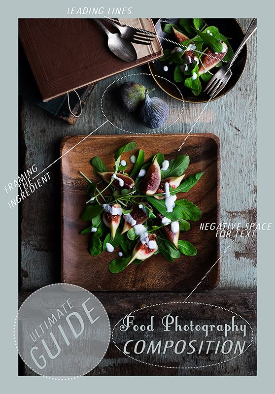 Food Photography Tutorial on Composition filled with beautiful examples photos and videos: The Ultimate 3 Part Guide. learn photography, learn food photography