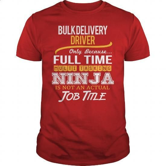 Awesome Tee For Bulk Delivery Driver - #tee shirts #pink hoodies. SIMILAR ITEMS => https://www.sunfrog.com/LifeStyle/Awesome-Tee-For-Bulk-Delivery-Driver-Red-Guys.html?60505