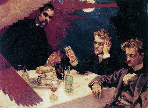 Sibelius (right)