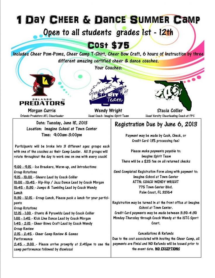 youth camp program ideas pdf