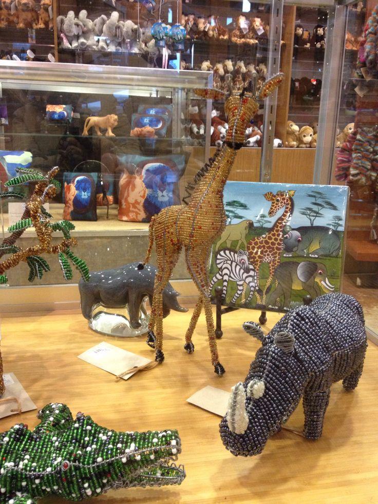 Giraffes ruin beading.