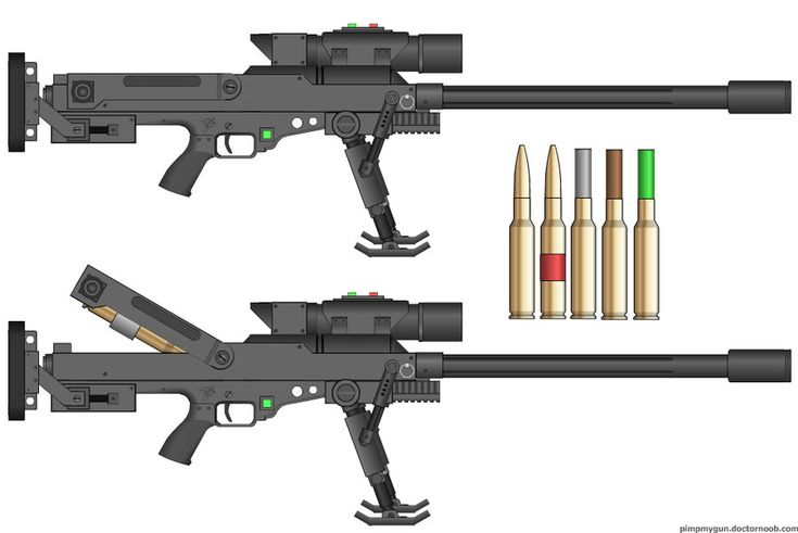 M-499 30mm Anti-Material Rifle by dronner66 on DeviantArt
