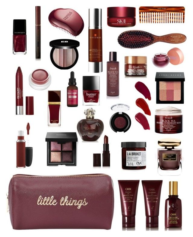 """""""Little Things"""" by stacy-hardy on Polyvore featuring beauty, MAC Cosmetics, Revlon, Tom Ford, rms beauty, Deux Lux, By Terry, Laura Mercier, L:A Bruket and Oribe"""