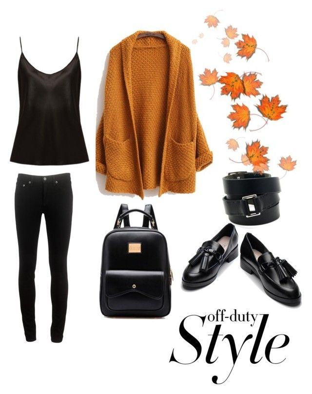 Untitled #1 by wearitblack on Polyvore featuring La Perla, rag & bone and Hermès
