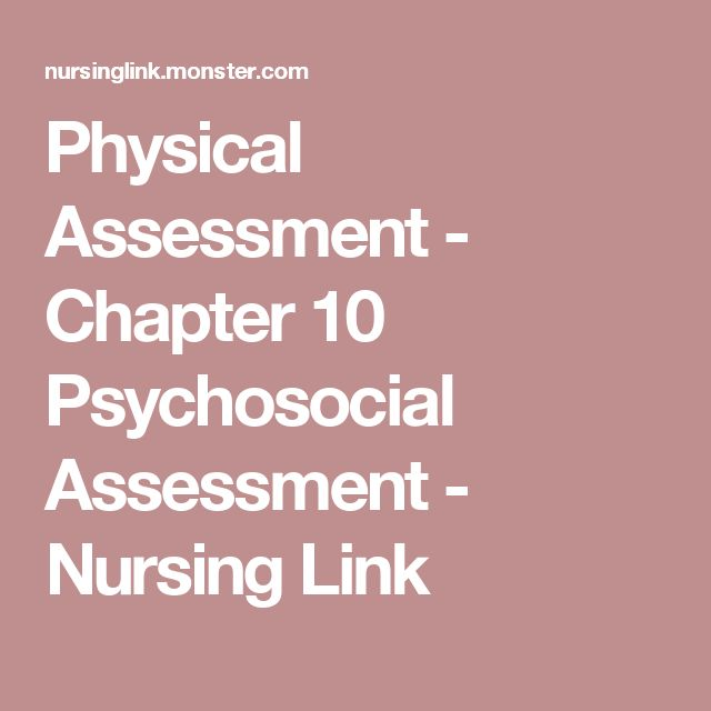 The 25+ best Nursing physical assessment ideas on Pinterest - psychosocial assessment