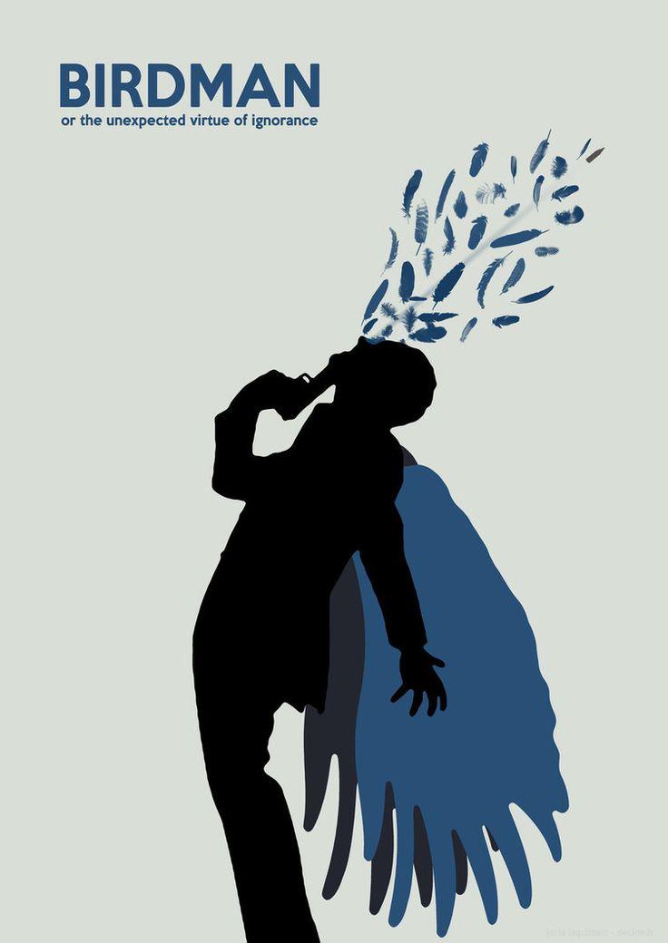 Birdman (2014) ~ Minimal Movie Poster by Joris Laquittant #amusementphile