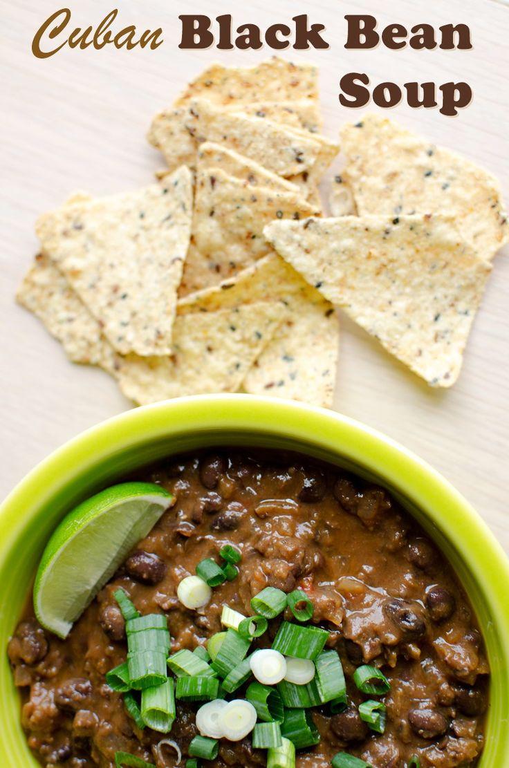 Vegan Cuban Black Bean Soup Recipe (gluten-free & allergy-friendly, too!)