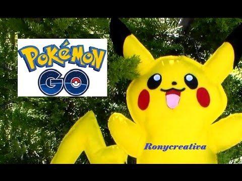 Pokemon GO atrapa tu PIKACHU - MOLDES GRATIS / Ronycreativa - YouTube