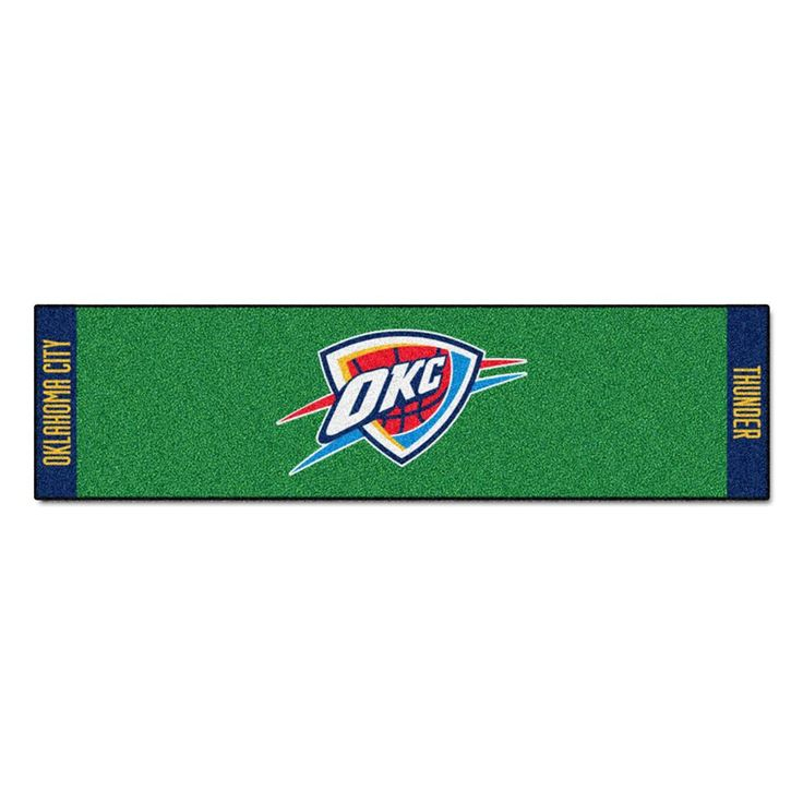 Oklahoma City Thunder NBA Putting Green Runner (18x72)