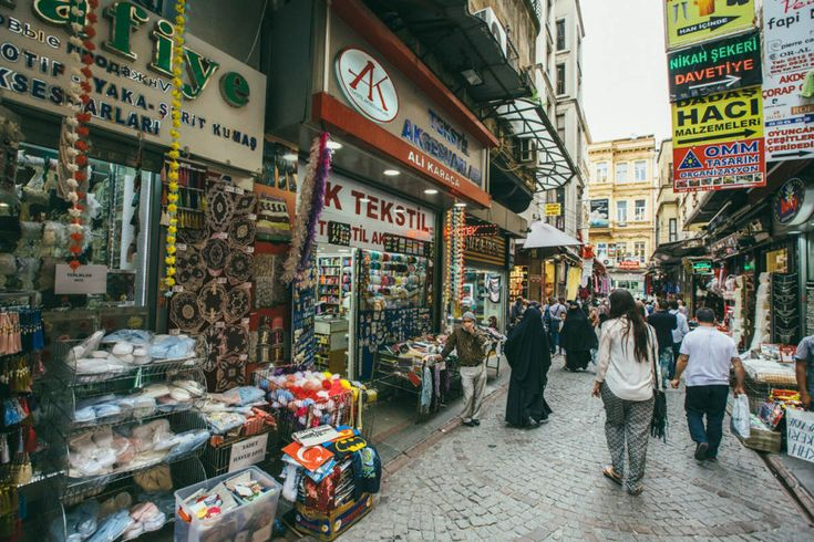 12. Shopping in Istanbul:l The shopping in Istanbul is abundant; small shops and vendors greet you around every corner. From Ottoman antiques to the hip Turkish brand Mavi, it's all here.