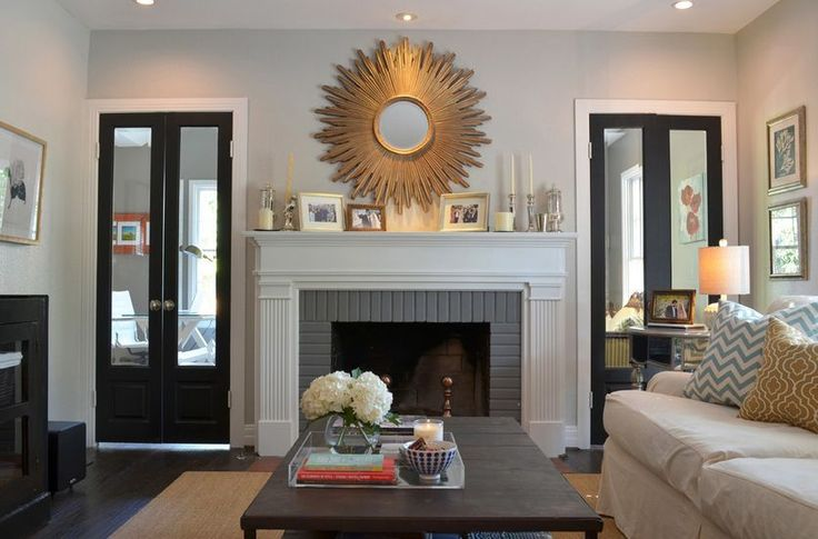 Lounge Room Fire Place Wall Design