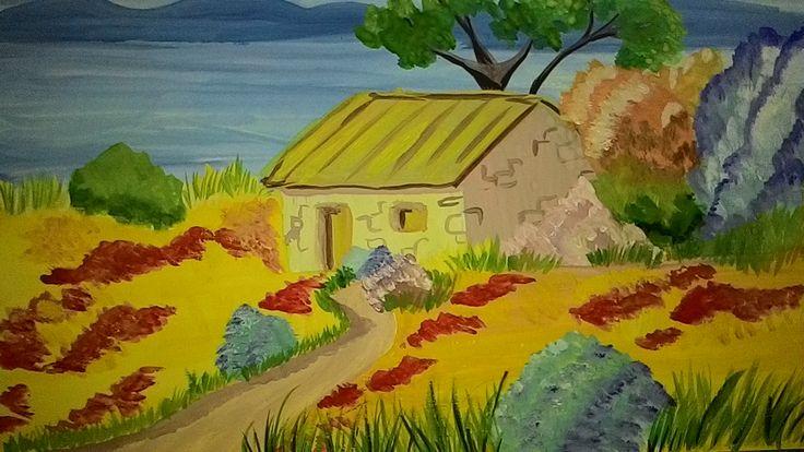 Provence gouache