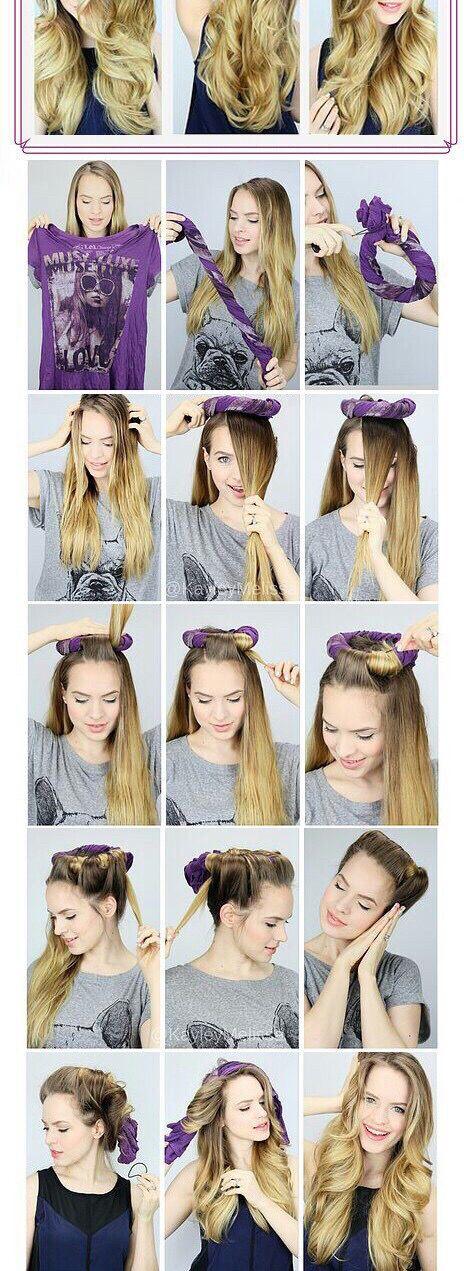 Astonishing 1000 Ideas About Curly Hair Tutorial On Pinterest Hair Romance Short Hairstyles Gunalazisus