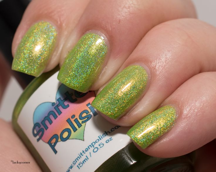 Smitten Polish Electric Lime, Dreamland Lacquer Electric Lime, Grön Onsdag