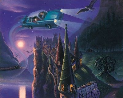 Mary Grandpre Art Harry Potter and the Chamber of Secrets