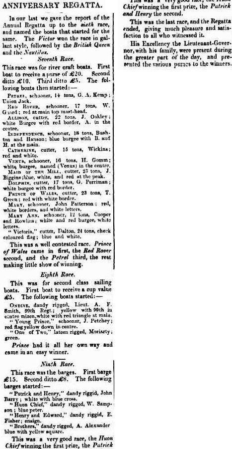 Hobarton Guardian, or, True Friend of Tasmania (Hobart, Tas. : 1847 - 1854), Wednesday 5 December 1849, page 3