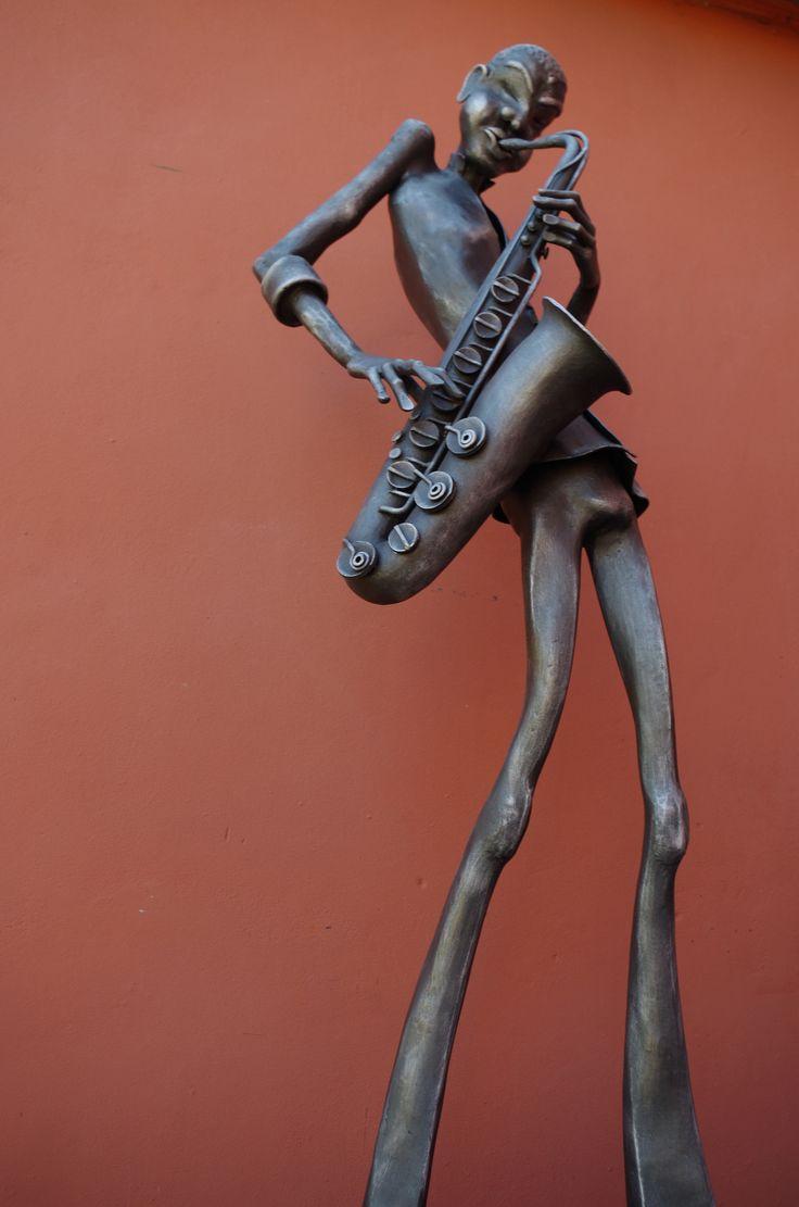 COLTRANE metal sculpture - Alexandr Pleskač
