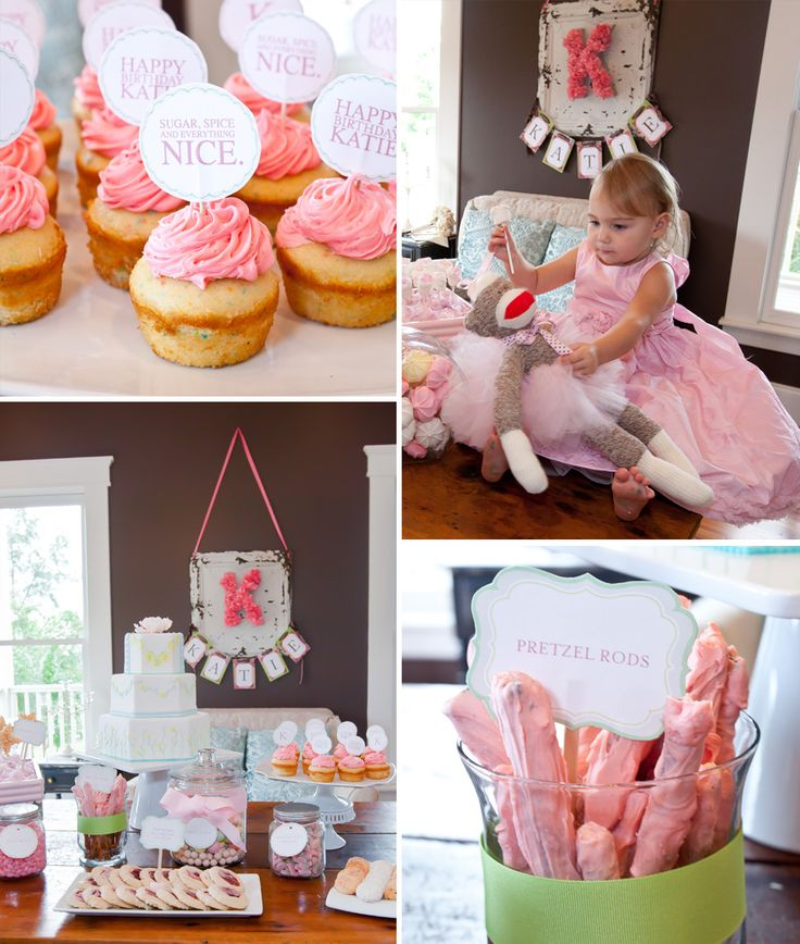 A Little Girl's 2nd Birthday Party-Sugar And Spice And