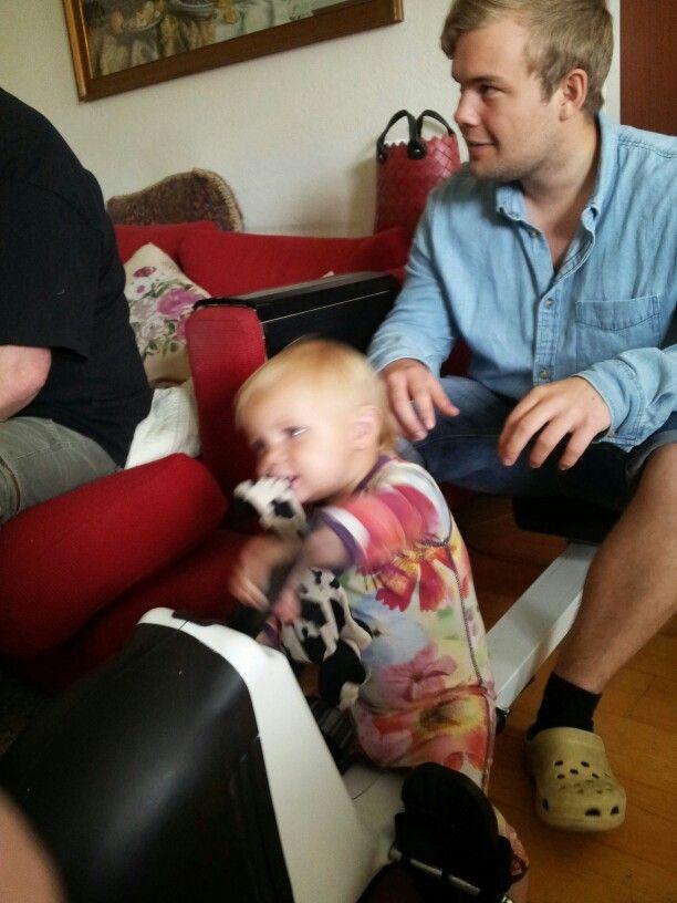 Fenja og onkel Dan 2014