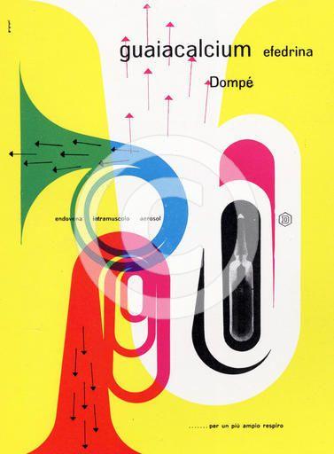 Italian graphic design by Franco Grignani, 1950s. Artist: Franco Grignani
