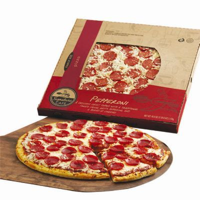 Safeway Signature Cafe Supreme Pizza: Anchovies Added - YouTube