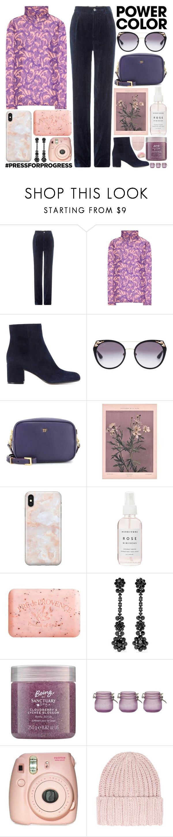 """""""I'm in your arms that waited for me for such a long time."""" by pure-and-valuable on Polyvore featuring Gucci, Dries Van Noten, Gianvito Rossi, Tom Ford, Recover, Herbivore, Pré de Provence, Simone Rocha, Kilner and Fujifilm"""