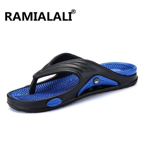 Ramialali <b>Mens Flip</b> Flops Summer Men'S New <b>Style</b> Eva Soft <b>Shoes</b> ...