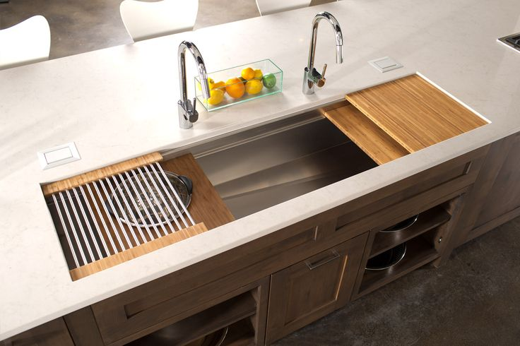 The Galley Sink Apparently The New Trend In Kitchen Sinks