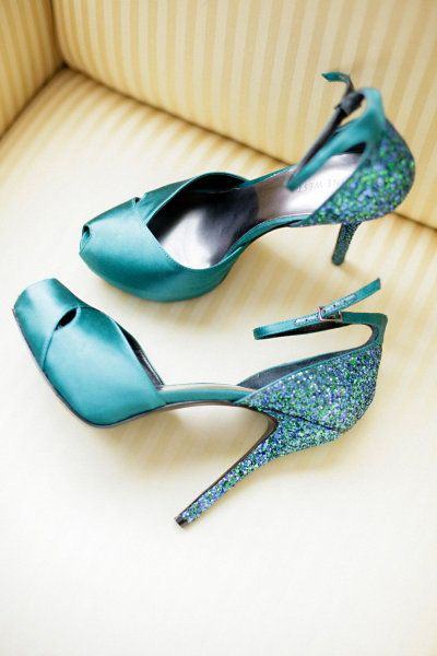 Love these stunning wedding shoes! via. Style Me Pretty | Gallery | Picture | #601861 ^