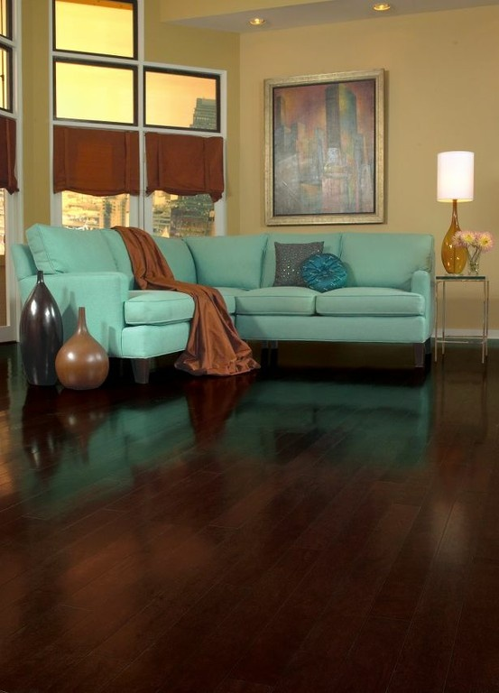 Toasted Sesame Cherry Hardwood Floors by Armstrong