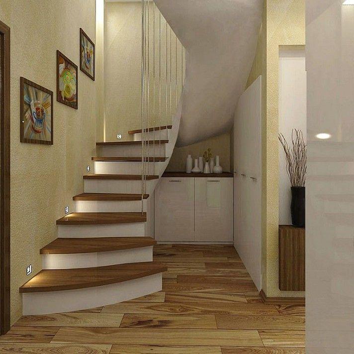 Дизайн интерьера лестницы: фото, идеи дизайна, каталог - oselya.ua