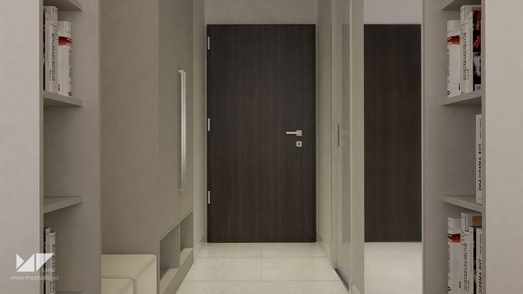 bright, modern entrance hall | entrance hall WA, Slovakia | MP STUDIO