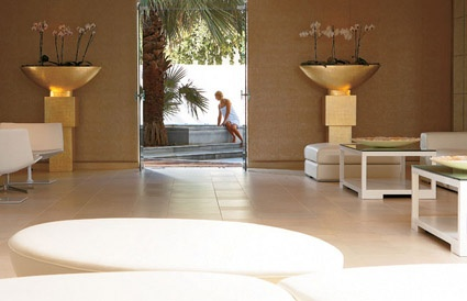 #Elixir Beauty #Spa lounges and outdoor jacuzzi