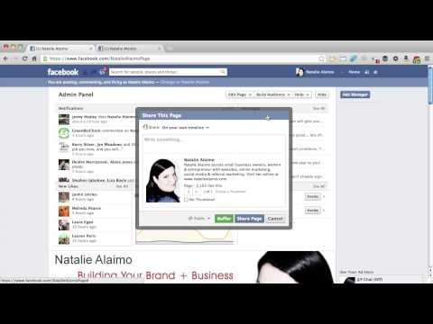How to Invite Your Friends to Like Your Facebook Business Page.    http://www.nataliealaimo.com    Often you have lots of friends on Facebook and you want them to connect with you on your Facebook business page.  This video shows you 4 ways to get more of them over to your business page.    Questions: Ask at www.facebook.com/NatalieAlaimoPage    Get more like this and a free social media plan at www.nataliealaimo.com