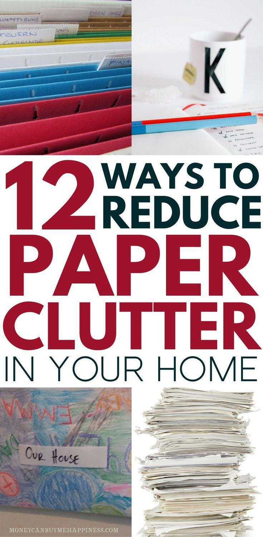Reducing Clutter best 25+ paper clutter ideas on pinterest | paper organization