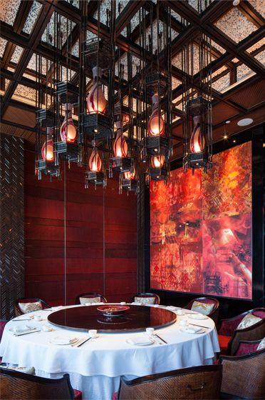 25 best ideas about chinese restaurant on pinterest for Chinese restaurants interior designs