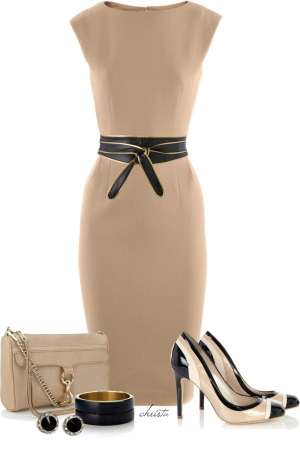 """Shift Dress"" by christa72 on Polyvore"