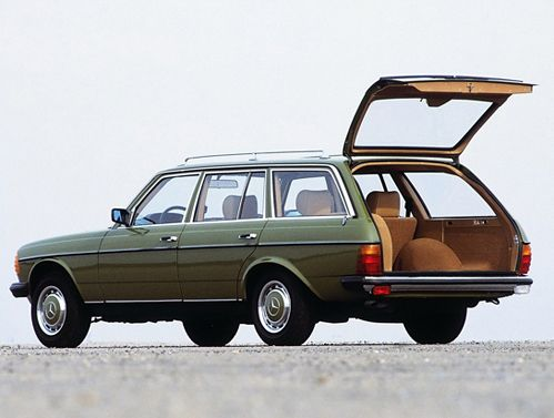 "Mercedes station wagon- ALWAYS  in style...ultimate ""mommy car"""