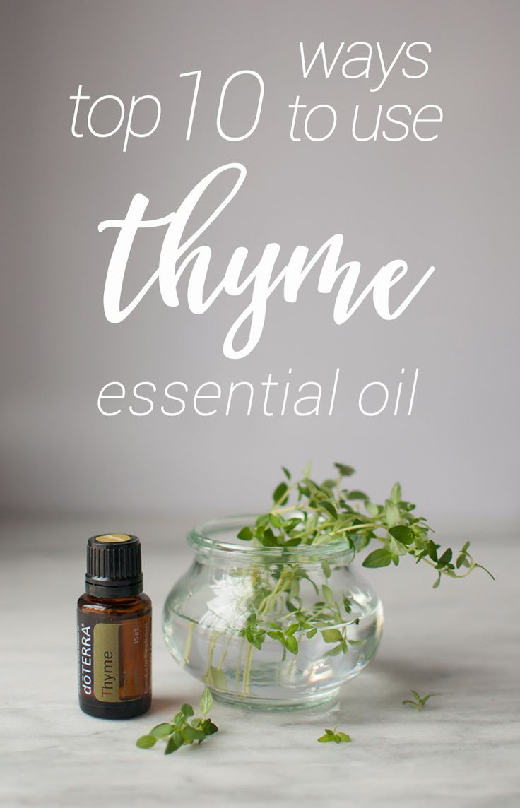 Thyme essential oil can help with hair loss, memory, alertness, stress, depression, germs, and more! It's about time to start using Thyme!