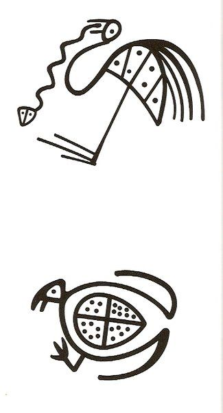 Ms de 25 ideas increbles sobre Dibujos rupestres en Pinterest
