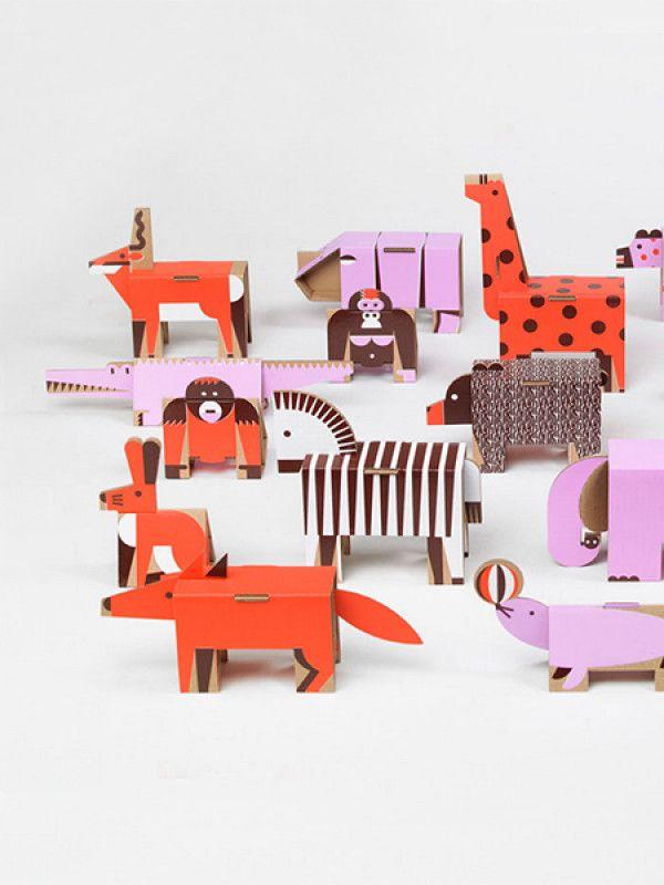 Cardboard Animals                                                                                                                                                                                 Mais